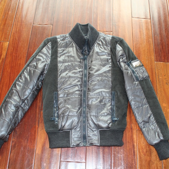 elegant shoes extremely unique lovely luster DOLCE & GABBANA MEN BOMBER JACKET